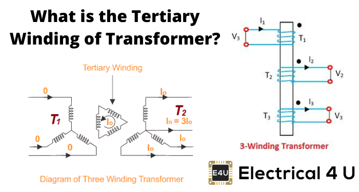 What Is The Tertiary Winding Of Transformer