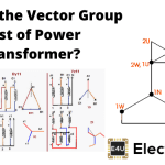 Vector Group Test of Power Transformer