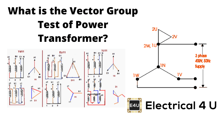 What Is The Vector Group Test Of Power Transformer