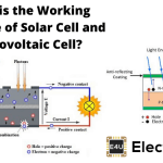 Working Principle of Solar Cell or Photovoltaic Cell