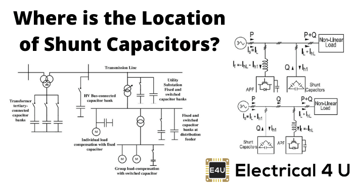 Where Is The Location Of Shunt Capacitors
