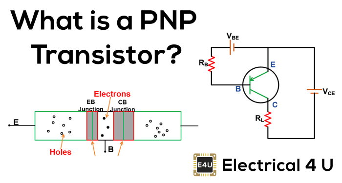 PNP Transistor: How Does it Work? (Symbol & Working Principle)
